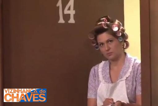 Lívia Andrade atuando como Dona Florinda