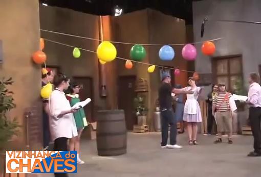 Gravação do episódio