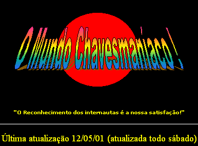Logotipo do site em 2001