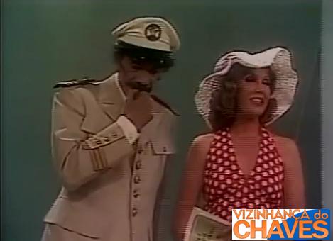 """""""O Marinheiro Mareado"""", episódio de Chespirito que faz parte do """"Chaves"""". Imagens dele foram exibidas no """"Festival SBT 30 Anos"""", mas, o episódio não voltou a ser exibido na íntegra."""