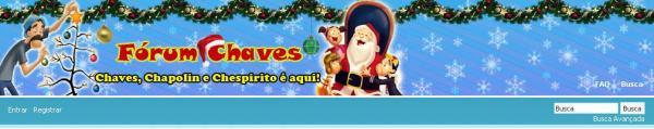 Topo do fórum em clima de Natal, em 2010 (clique na imagem para ampliar)