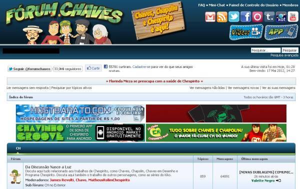 Fórum Chaves nos dias atuais (2012) (clique na imagem para ampliar)