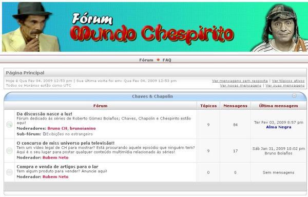 FOMUCHE - Fórum Mundo Chespirito em 2009 (clique na imagem para ampliar)