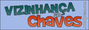 Vizinhança do Chaves - Logotipo grande azul