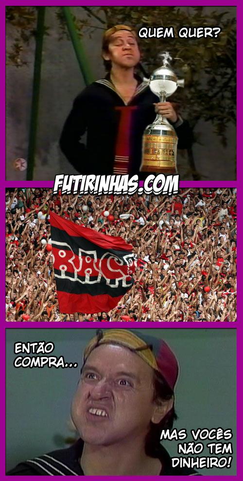 Tirinhas do Chaves - Libertadores II - Créditos Futirinhas