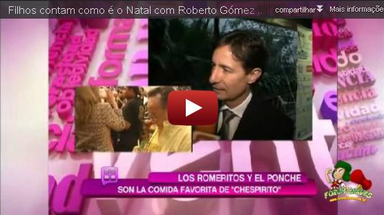 Ceia de Natal na casa de Roberto Gómez Bolaños