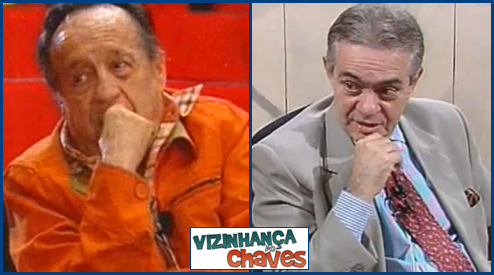 Chespirito e Chico Anysio - Vizinhança do Chaves