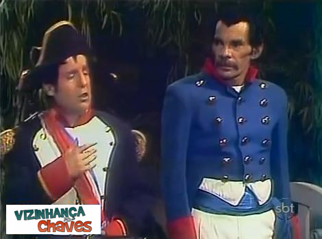 """O episódio do Chaves mais exibido pelo SBT em 2012 foi uma esquete: """"Napoelão e Josefina"""""""