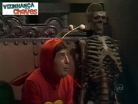 Chapolin Colorado - A casa dada não se contam os fantasmas (1974) - Episódio perdido e semelhante - SBT - Vizinhança do Chaves - 2