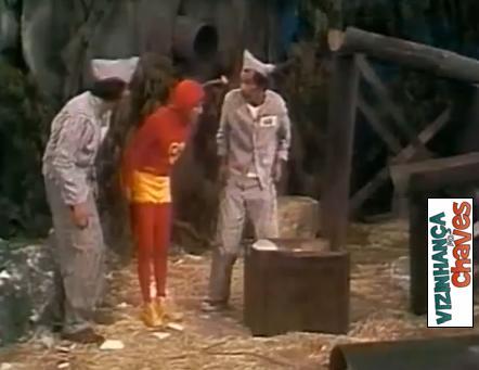 Chapolin Colorado - Para fugir da prisão (1973) - Episódio perdido - SBT - Vizinhança do Chaves