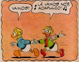 chamada Donald Acapulco