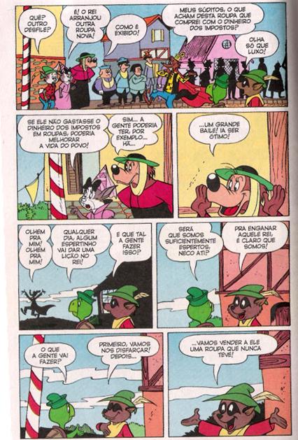 Disney - A Roupa Nova do Rei - imagem reprodução - pg 1