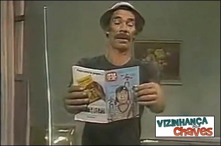 Chaves episódio inédito - Sustos na vila (O filme de terror, primeira versão) 1973 - SBT - vizinhança do Chaves - imagem reprodução
