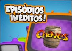 Logotipo Chaves Episódios Inéditos no SBT em 2014 - Lote 2012 - nova dublagem - cobertura completa