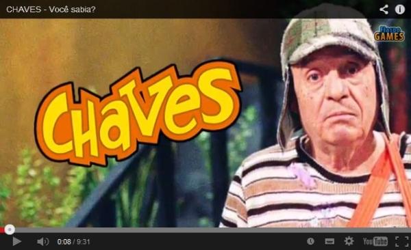 Curiosidades do Chaves - Fiaspo Games - imagem Reprodução Youtube
