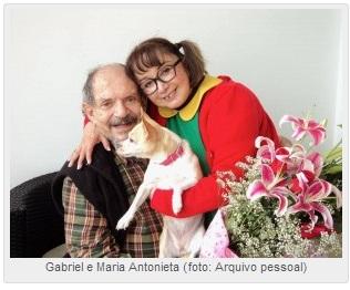 Maria Antonieta de Las Nieves e seu marido