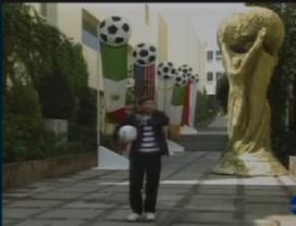 Chompiras no clima da Copa de 94