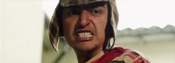 El Chico del Barril - Paródia do Chaves com cenas violentas e de sexo - imagem reprodução - 01