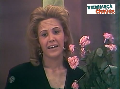 Dona Florinda sem traje da personagem - Vizinhança do Chaves
