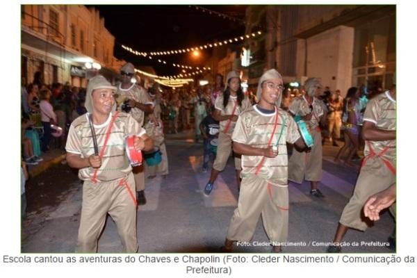 Carnaval 2015 Chaves Chespirito Chapolin homenagens - Escola de Samba Unidos da Vila Sul - Farrapo-RS