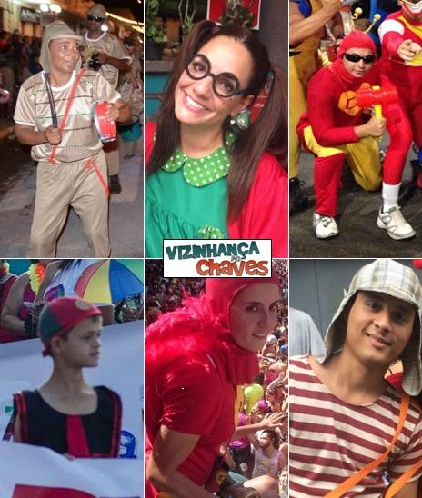 Carnaval 2015 Chaves Chespirito Chapolin homenagens - Vizinhança do Chaves