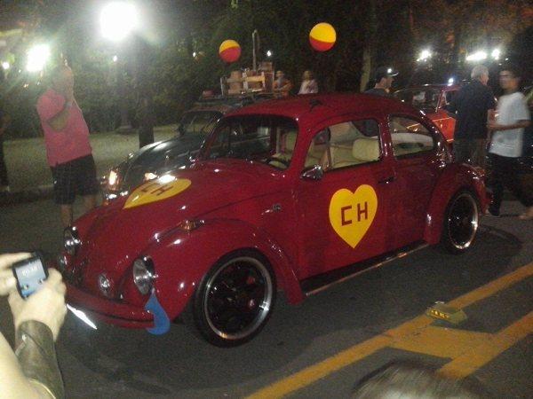 Fusca Poços - Poços de Caldas Minas Gerais MG - homenagem a Chaves Chapolin Chespirito Turma do Chaves Carnaval 2015 IV