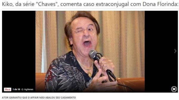 polemicas do seriado Chaves - imagem reproducao MSN Entretenimento