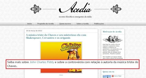 Vizinhança do Chaves na mídia - 01