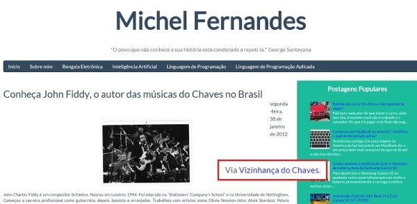 Vizinhança do Chaves na mídia - 03