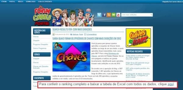 Vizinhança do Chaves na mídia - 04 - 09
