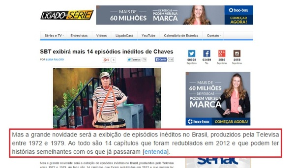 Vizinhança do Chaves na mídia - 05