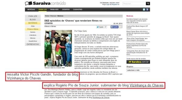 Vizinhança do Chaves na mídia - 07