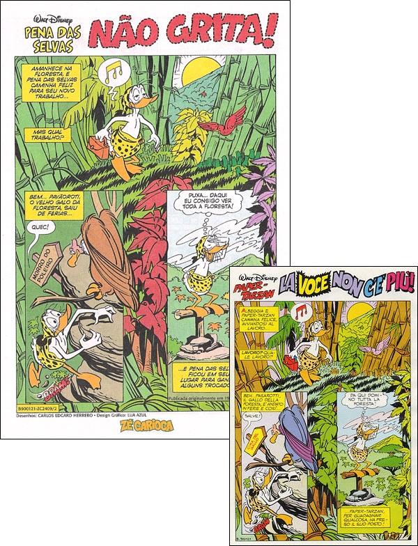 HQ do Pena das Selvas mostra invento e experiencia identicas as utilizadas por cientista louco em Chapolin 1