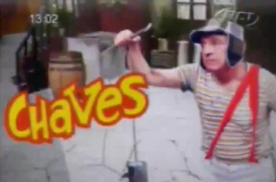 Mais uma emissora é flagrada exibindo Chaves ilegalmente - RCT - Rede Comunidade de Televisão - RS Rio Grande do Sul