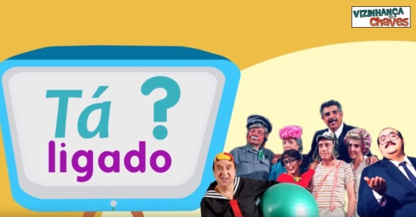 afiliada do SBT usa imagens da internet para falar sobre Chaves, invés do arquivo do SBT - imagem reprodução Youtube