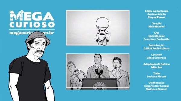 desenho do Seu Madruga em video do canal Mega Curioso - fobia a trabalho - imagem reproducao