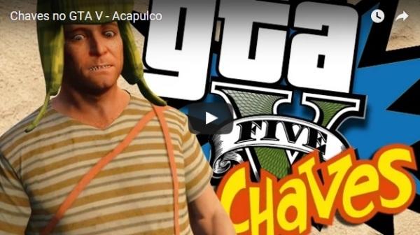 Episódios de Chaves e Chapolin ganham versões em GTA V - reprodução Youtube