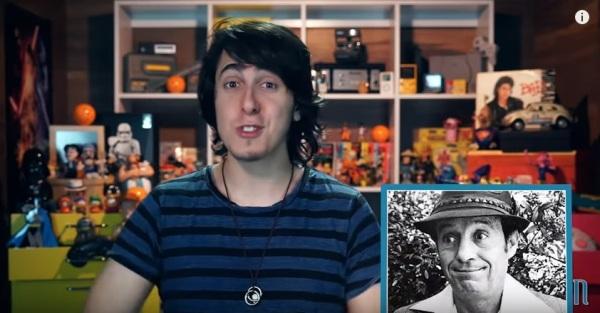 Canal Nostalgia faz vídeo biográfico sobre Chespirito - imagem reprodução Youtube