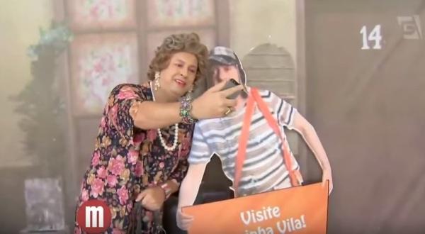 Programa Mulheres da TV Gazeta visita exposição da vila do Chaves - imagem reprodução Youtube
