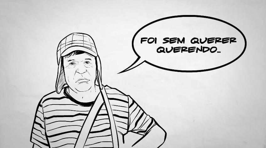 Desenho De Chaves Foi Utilizado Para Ilustrar Video Sobre Supostos