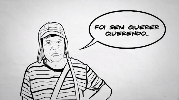 desenho Chaves - foi sem querer querendo - Mega Curioso - reprodução Youtube