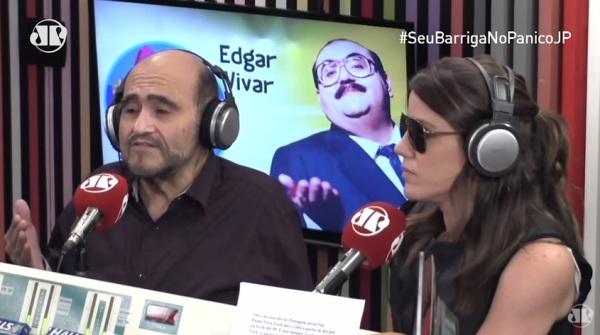 Edgar Vivar é entrevistado pelo Pânico no Rádio