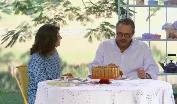 Ao experimentar bolo de churros, jurados do Bake Off Brasil lembram de Chaves - imagem reprodução