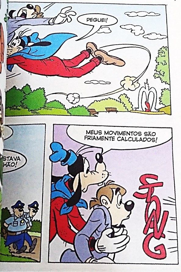 Disney Especial - Os jornalistas - Superpateta dizendo frase do Chapolin