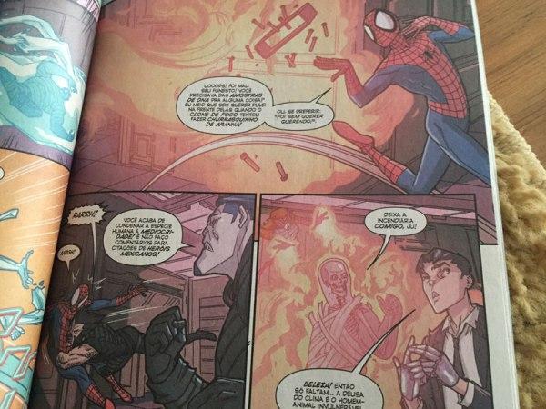 Homem-Aranha cita frase de Chaves em HQ