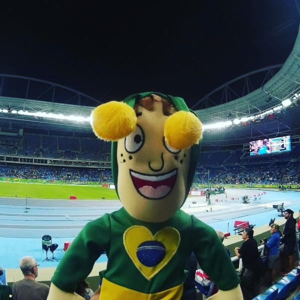 Chapolins brasileiros - Rio 2016 - Medalhito